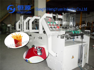 Competitive Price French Fries Carton Box Forming Machine pictures & photos