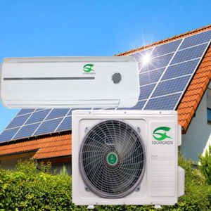 9000BTU 12000BTU 18000BTU DC Inverter Wall Split Solar Air Conditioner pictures & photos