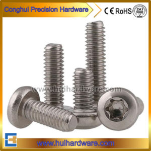 Stainless Steel 304/A2 Torx Pan Head Tamper Proof Security Screws pictures & photos