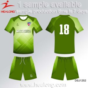 Healong Sportswear Team Club Sublimation Soccer Jersey pictures & photos