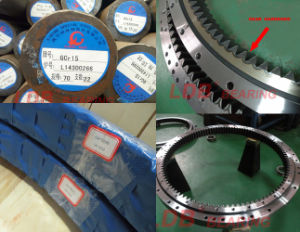 Excavator Parts Swing Circle Slewing Bearing Ring pictures & photos