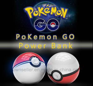 2016 Hot Selling Ot Selling Private Label Mini Pokemon Power Bank 12000mAh 2ND Pokemon Power Ball