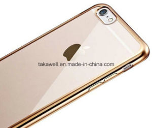 Mobile Phone Accessories Electroplating TPU Case for iPhone 6 Cell Phone Case pictures & photos