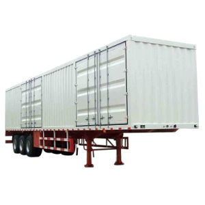 Popular Price Container Trailer for Tractor Truck 10-100ton pictures & photos