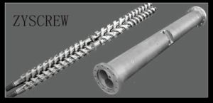 Nitrided Extruder Conical Double Screw and Cylinder pictures & photos