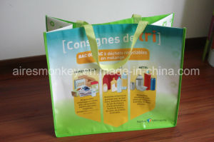 Eco Reusable Custom Printed Laminated Shopping Bag pictures & photos