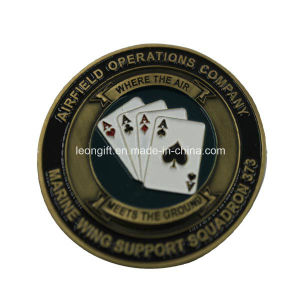 Top Sell Metal High Quality Shield Challenge Coin pictures & photos