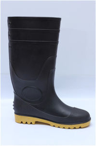 Hot Selling Industrial and Mining Safety Rain Boots with Steel Toe,