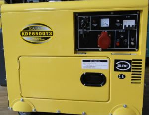 6kva 3 Phase Silent Type Diesel Generator pictures & photos