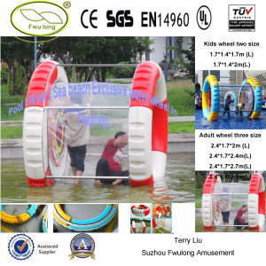 Amusement Park Plastic Water Roller Ball for Sale