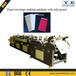 Paper Bag Making Machine with Side Gusset (ZDJ-280) pictures & photos
