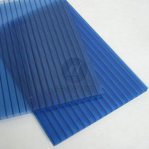Blue Color Polycarbonate Sheet for Sunshade pictures & photos