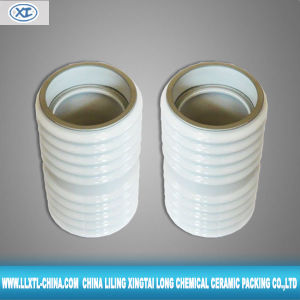 High Voltage and High Strength Alumina Ceramic Tube Insulation (XTL-CVI28)