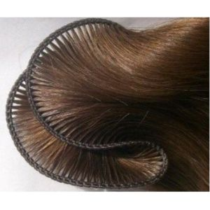 European Quality Hand Tied Hair Weft pictures & photos