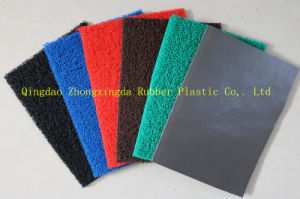 3G Foam Backing PVC Cushion Mat pictures & photos