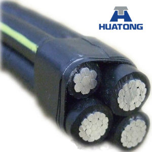 Low Voltage Aluminum Conductor 3X50+54.6+2X16 mm2 ABC Cable pictures & photos