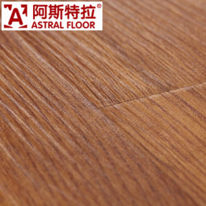 8mm Waterproof Real Wood Texture Surface (U-Groove) Laminate Flooring (AS0002-4) pictures & photos