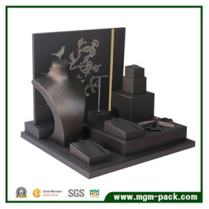 Manufacturer PU Leather Jewelry Display Stand pictures & photos