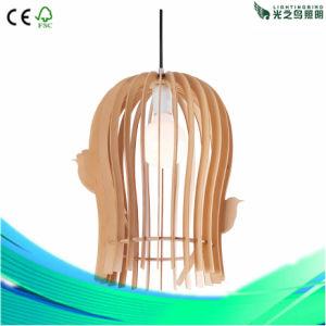 Fashion Modern Home Lighting Desk Wood Pendant Lamp (LBMT-QC350)