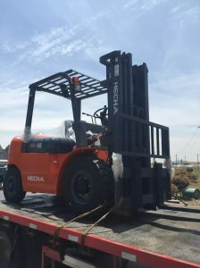 Hecha Forklift 4.5 Ton Diesel Forklift on Sale pictures & photos