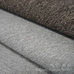 Cashmere Wool Touch Fabric Polyester and Nylon for Decoration pictures & photos