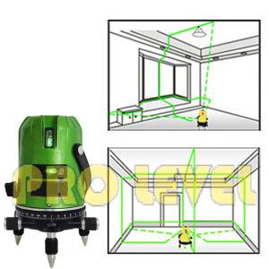 Self-Leveling and 4V1h1d Multiline Green Laser Level (SK-468PG) pictures & photos
