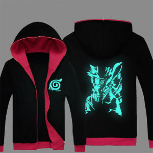 New Anime Naruto Uzumaki Cartoon Naruto Bamboo Hoodie