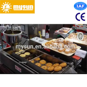 Snacks Usage 304 Stainless Steel Automatic Donut Making Machine pictures & photos
