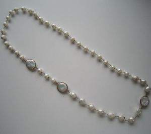 Fashion Freshwater Pearl Necklace Made in China Manufacturer pictures & photos