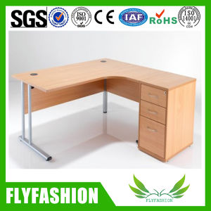 Hot Sale Wooden and Metal Office Desk with Side (OD-135) pictures & photos