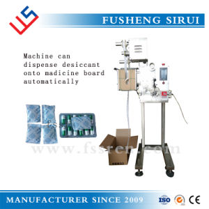 Pharmaceutical Pillow Bag Packing Machine Matches with Desiccant Pouch Dispensing Machine pictures & photos