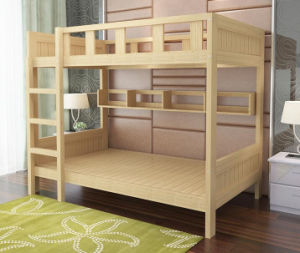 Solid Wooden Bed Room Bunk Beds Children Bunk Bed (M-X2202) pictures & photos