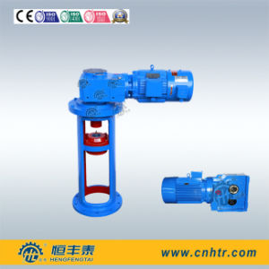 Semi Liquid Helical Bevel Gearmotor