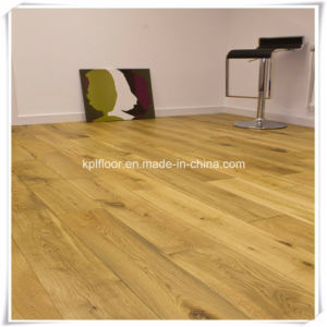Poplar 14mm/2mm Engineered Wood Flooring Random Sereis pictures & photos