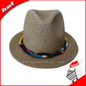 Summer Hat Fedora Hat Sun Hat Straw Hat pictures & photos