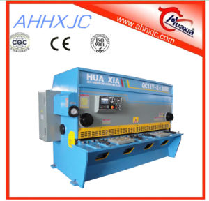Hydraulic Guillotine Shearing Machine Cutting Guillotine Shear pictures & photos