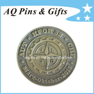 Challenge Coin with Antique Silver Plating (coin-092) pictures & photos