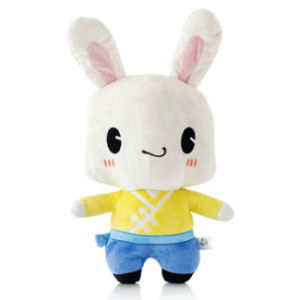Long Legs White Rabbit Plush Toy Stuffed Bunny Soft Toy pictures & photos