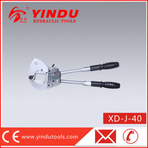 Cu-Al and Armoured Cable Ratcher Cutter (XD-J-40) pictures & photos