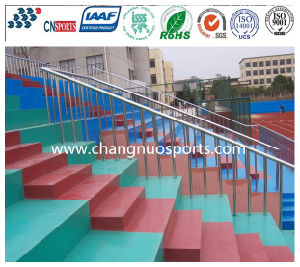 Durable Decorative Polyurea Coating for Stadium Square pictures & photos