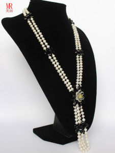 Nature Fashionable Pearl Necklace pictures & photos