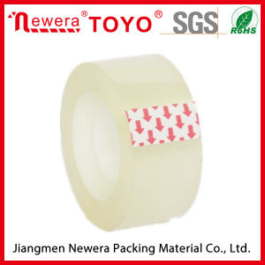OPP Yellowish Stationery Tape for Office and Student Use pictures & photos