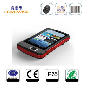 Bluetooth Mobile Computer with Fingerprint Scanner, 13.56MHz High Frequency RFID pictures & photos