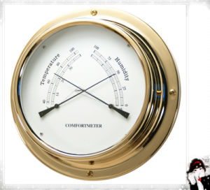 Indoor Wall Temperature and Hygrometer Dia. 124mm pictures & photos