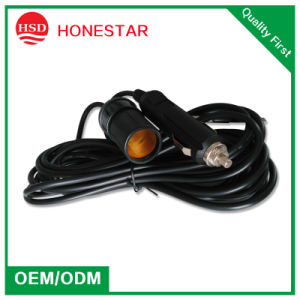 12V/24V Car Cigarette Lighter Power Extension Wire with Car Cigar Plug pictures & photos