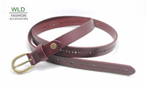 Fashion Perf Genuine Top Leather Lady Belt Lky1187 pictures & photos