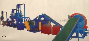 Automatic Waste/Used Tire Recycling Cutting Machine Production Line pictures & photos