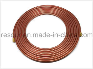 Copper Tube, Pancake Coils Copper Pipe (Length 15m/25m Per Scroll) pictures & photos