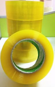 Primrose Yellow BOPP Packing Tape pictures & photos