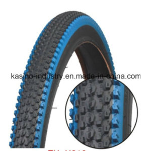 High Quality Blue Colour Tyre/Tire for Bike (Competitive price) pictures & photos